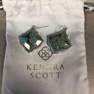 Kendra Scott African Turquoise Earrings